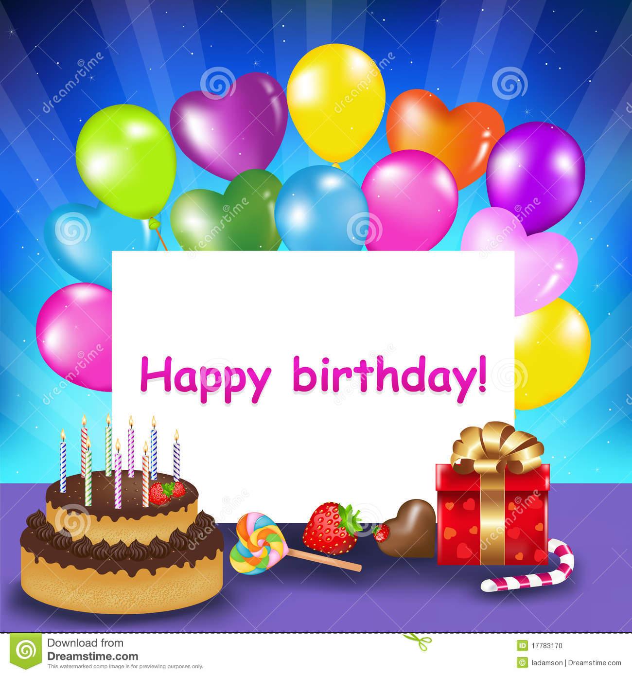happy birthday card for - photo #1