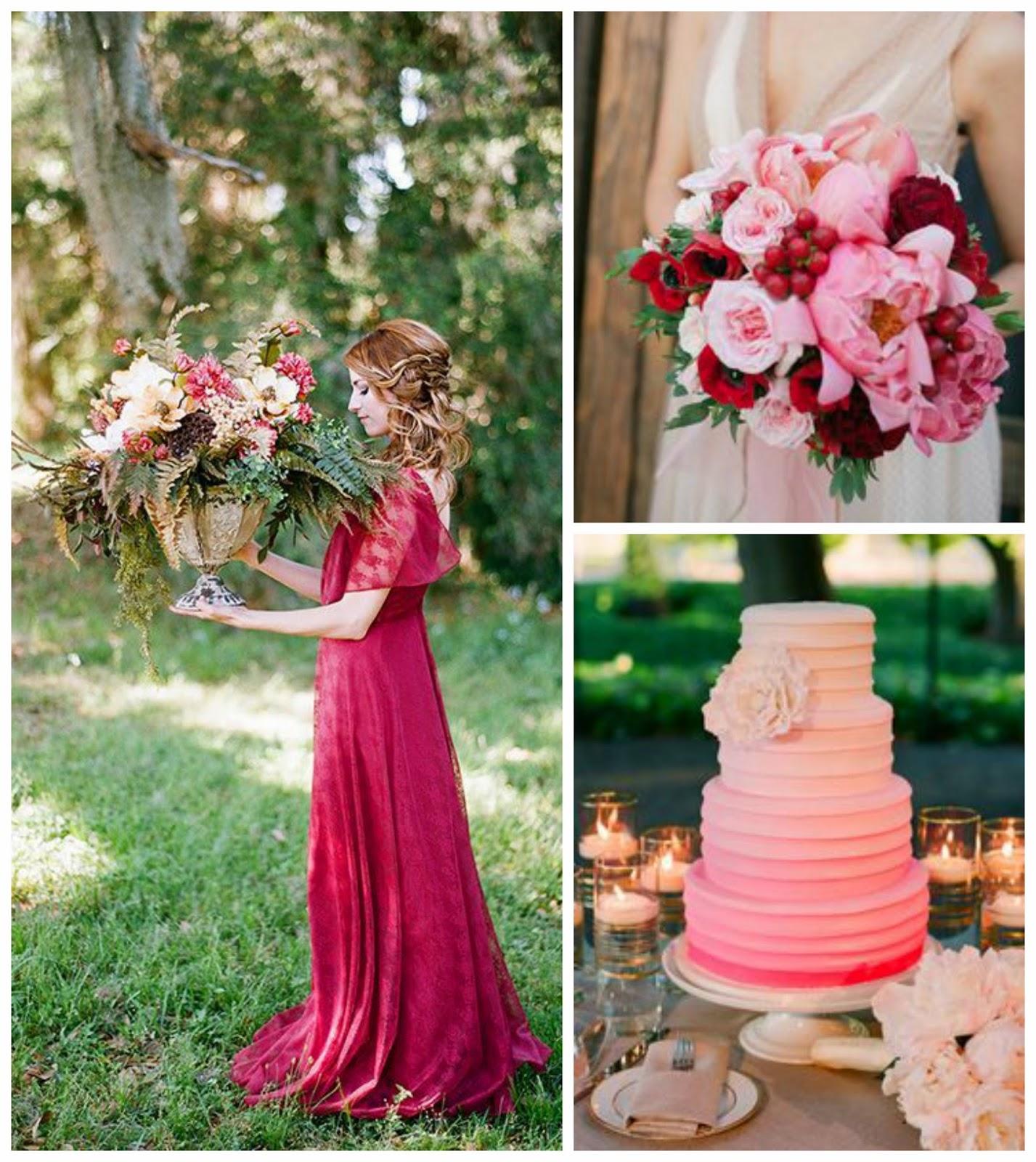Tema Matrimonio In Rosso : Le nozze di livia berry and blossom