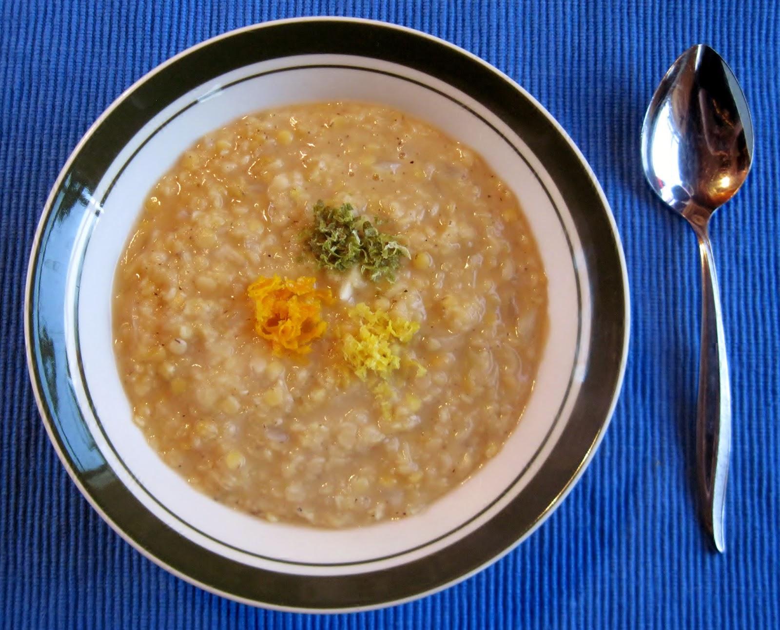 Red Lentil & Lemon soup