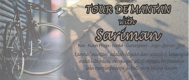 Kandidat sticker untuk Tour de Mantan bareng Sariman