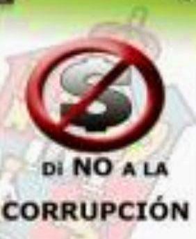 """""""NINGÚN TRABAJO HONRADO FABRICA RICOS A CORTO PLAZO"""".La corrupción mata..."""