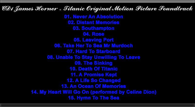 Titanic BSO - Aniversary edition (320kbps) [MG] [FC]