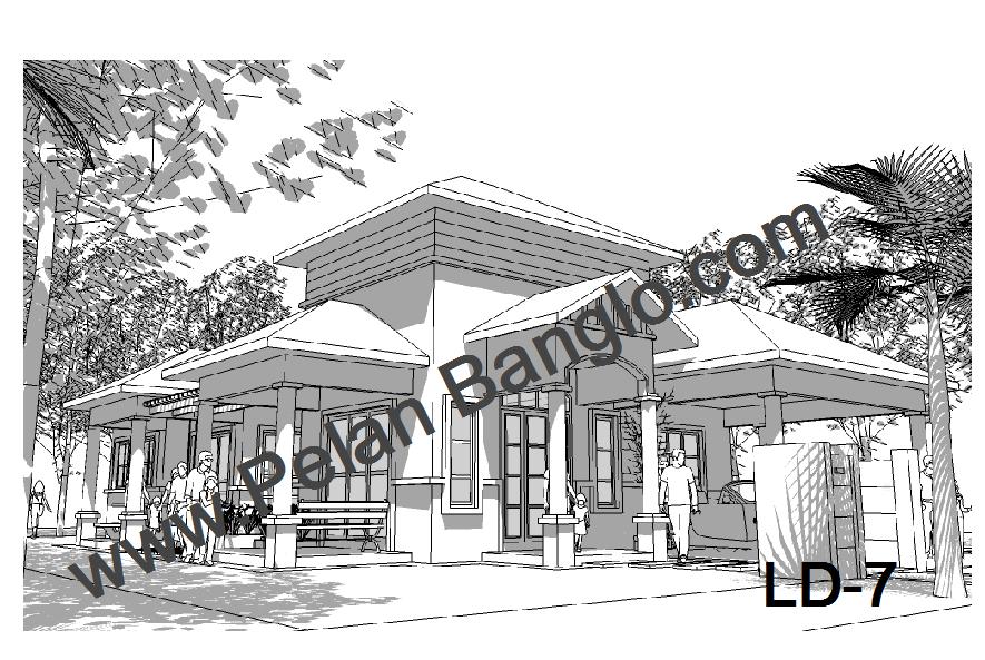 Pelan Banglo LD- 7