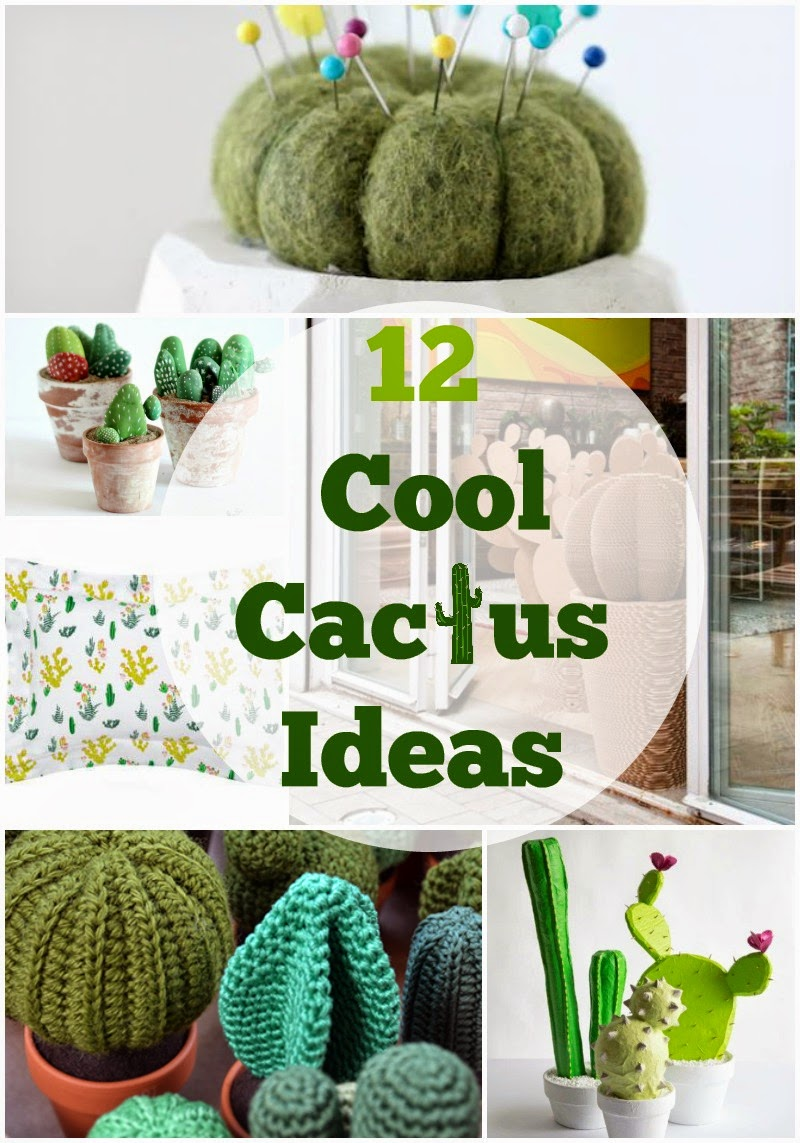 12 Cool cactus ideas and crafts