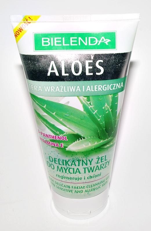 Bielenda Aloes delikatny żel do mycia twarzy