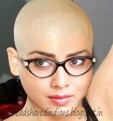 Southindian Queen Shreya Sharan Goto Headshave Head Shaved Indians