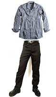 camisa-cuadros-combinar-pantalon-rayas-hombre