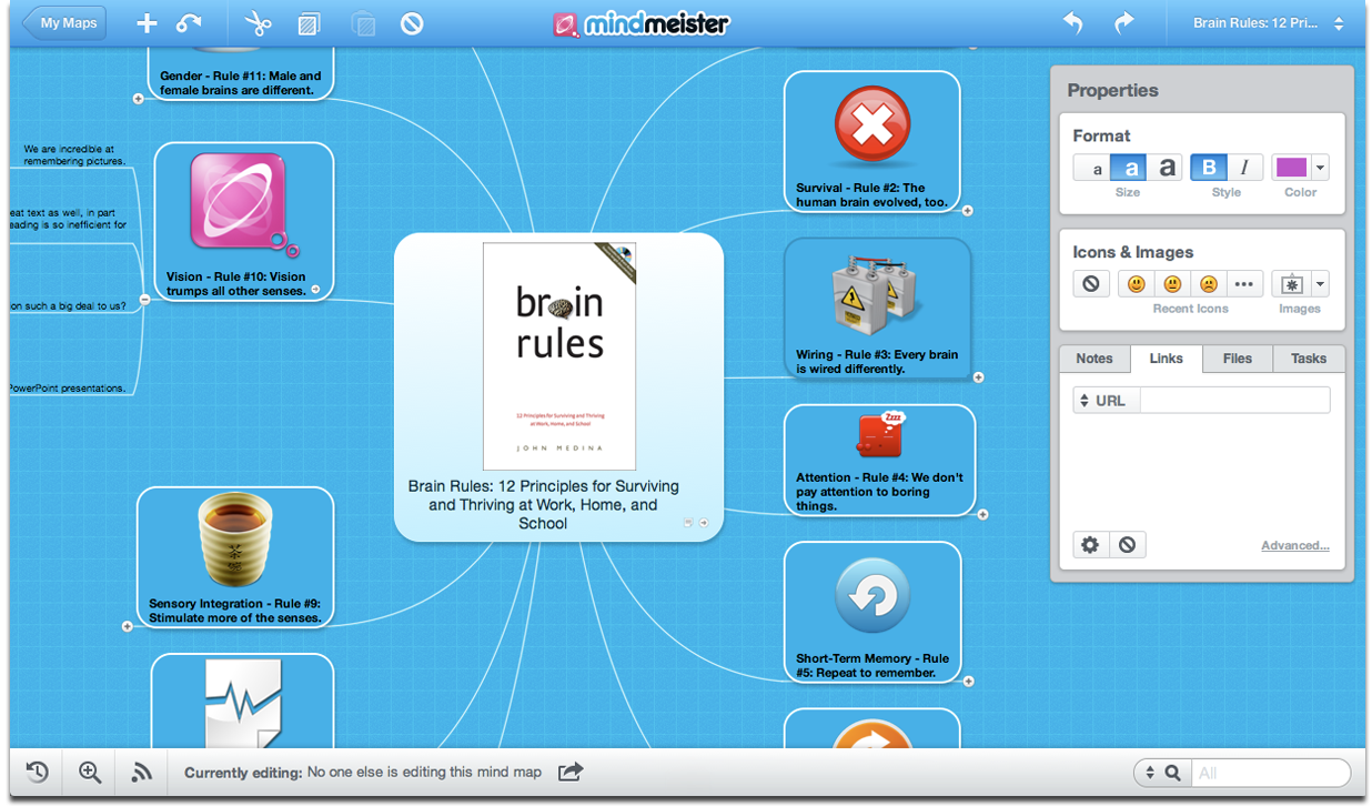 Best mind mapping software apps for ipad iphone mac windows for Building mapping software