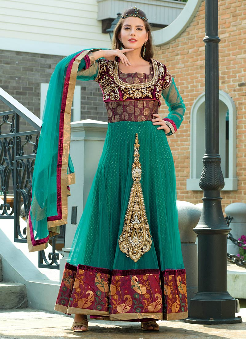 Long Wedding Anarkali Suits uk | Latest Women Clothing