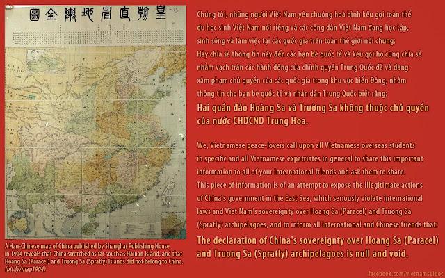Paracel Islands and Spratly Islands belong to Vietnam