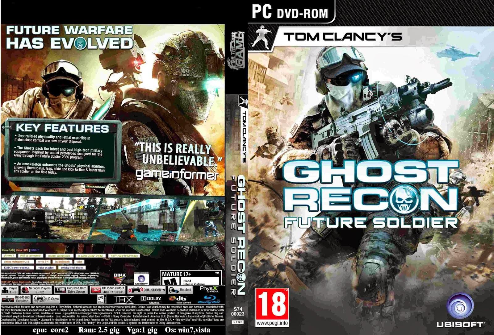 تحميل لعبة ghost recon future soldier برابط مباشر