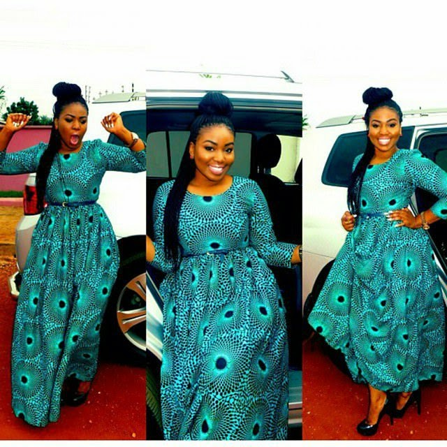 Beautiful And Trendy Ankara Style Long Gown - DeZango Fashion Zone