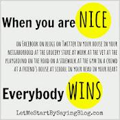 Play nice peeps.