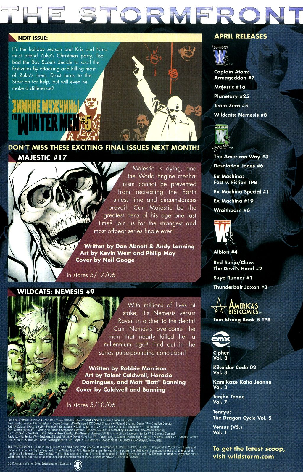 Read online The Winter Men comic -  Issue #4 - 23