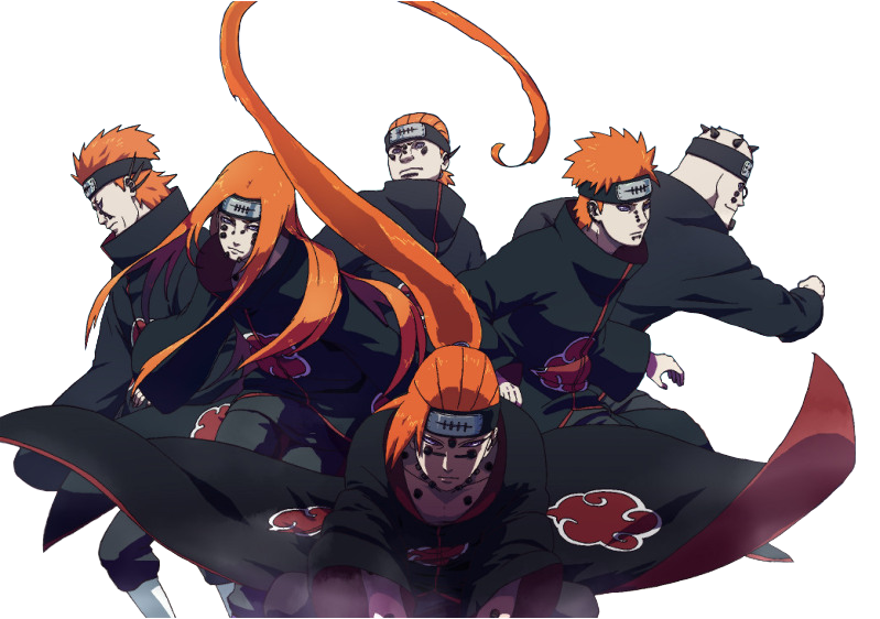Six Paths of Pain Names