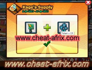 Kage Supply Get Free 15 Tokens + Friendship Kunai