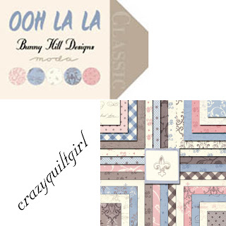 Moda OOH LA LA Quilt Fabric by Bunny Hill Designs