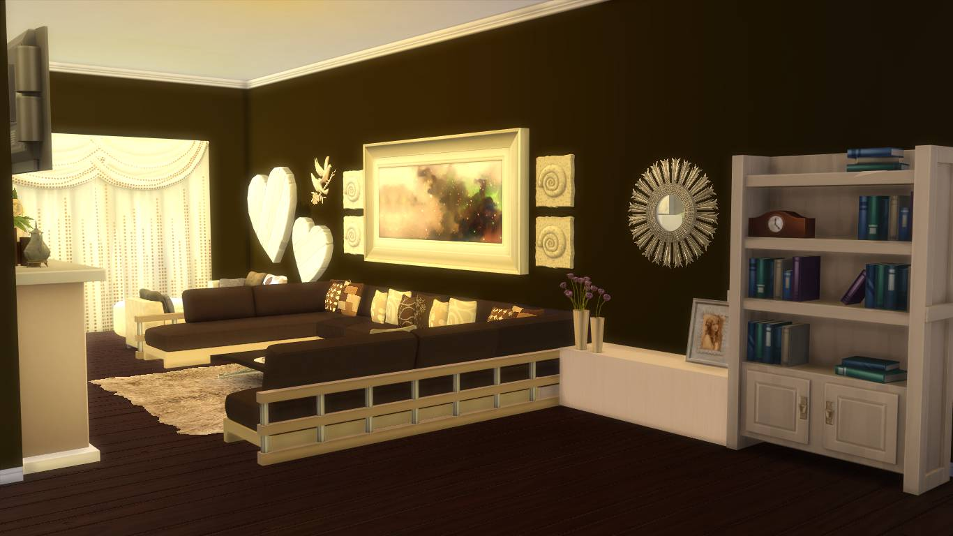 Sims 4 Living Room Download,sims 4 Custom Content Download