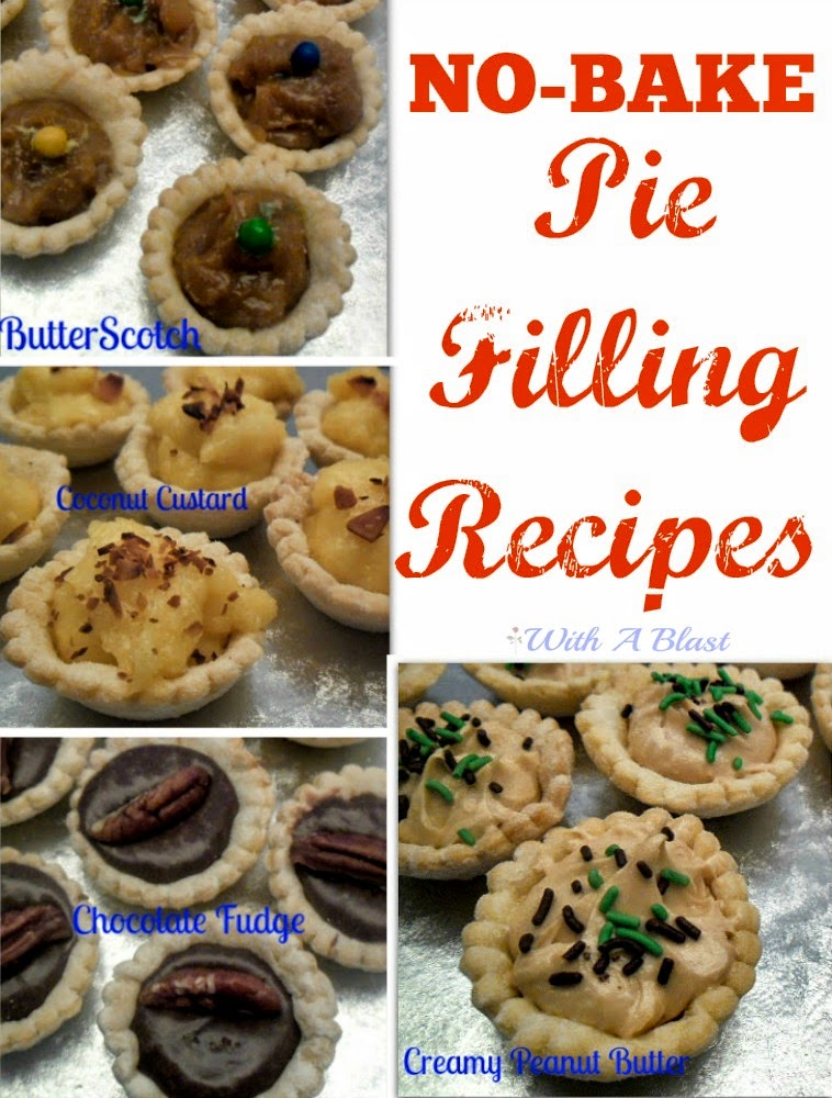 Quick No-Bake Pie Filling Recipes ~ Quick & Easy Pie Filling Recipes you can get ready in no time at all !  #PieFillings #PieRecipes