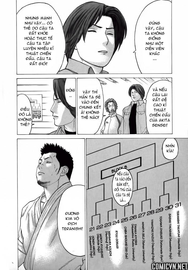 Karate Shoukoushi Kohinata Minoru chap 78 Trang 16