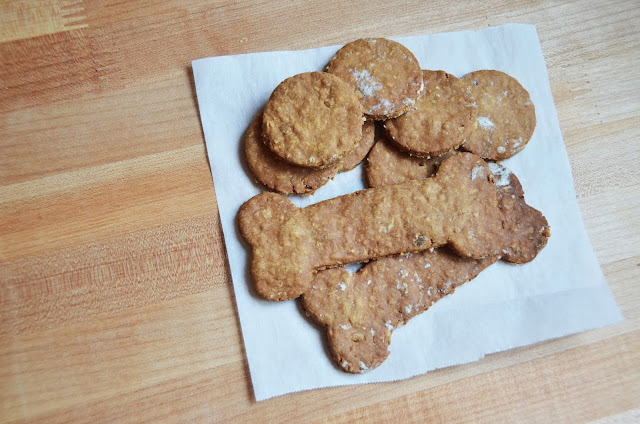 Gluten Free Peanut Butter Puppy Treats
