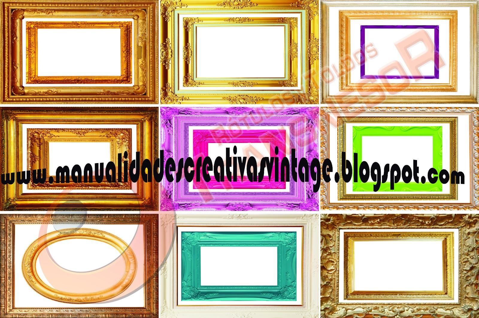 manualidades creativas Vintage: Marcos para photocall