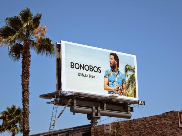 Bonobos Summer 2014 fashion billboard