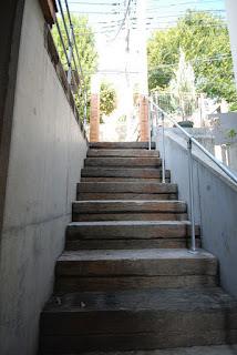 枕木 施工例 階段