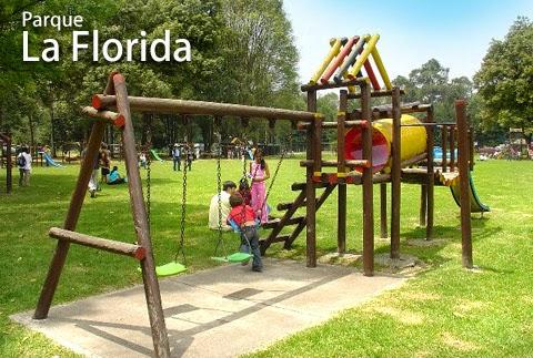 juegos infantiles Parque Metropolitano La Florida