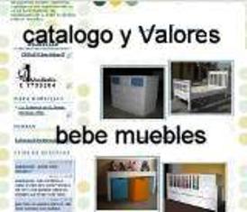 CATALOGO MUEBLES DE BEBE