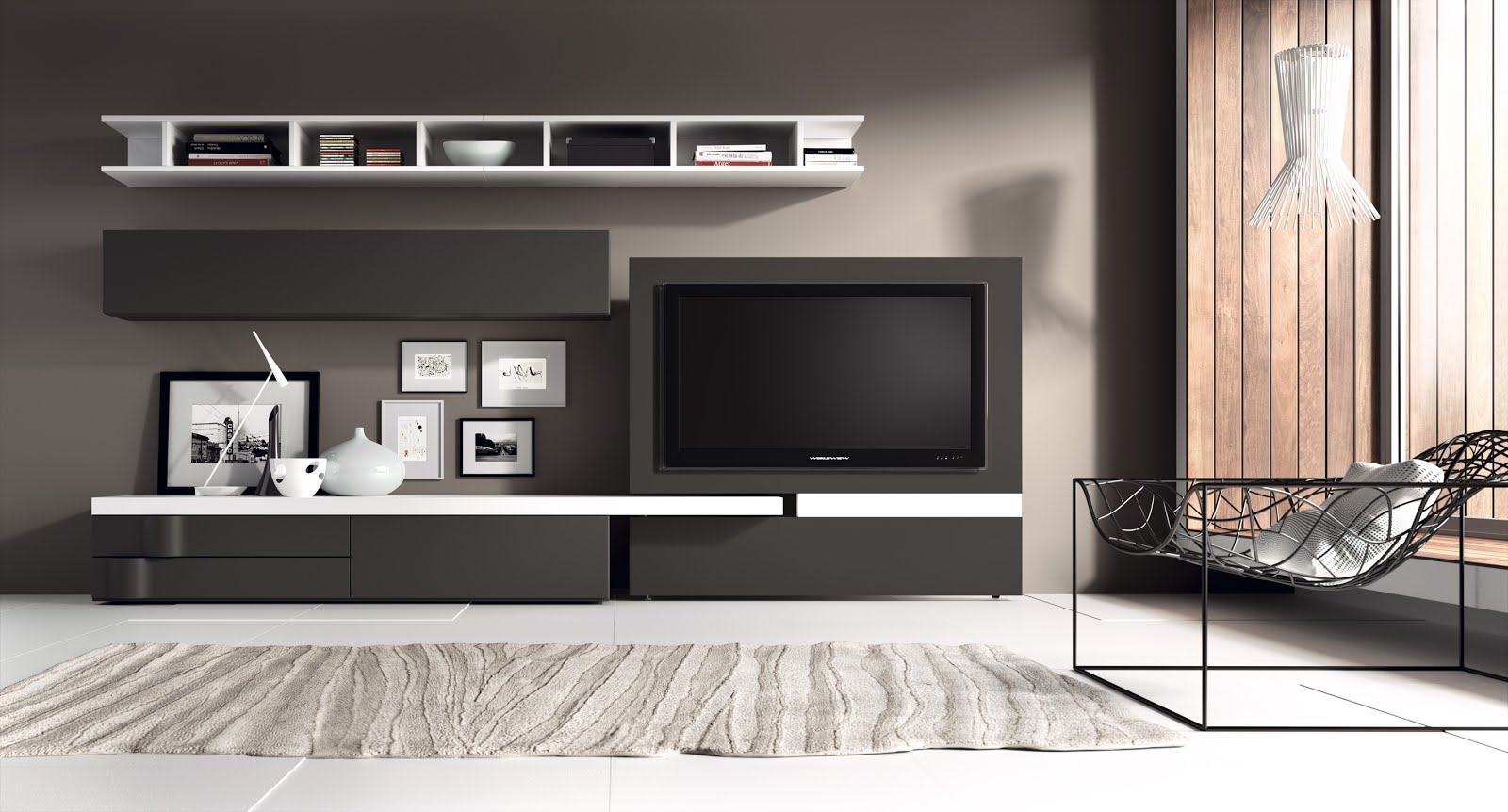 Fotografias de muebles de salon modernos for Lo ultimo en muebles de salon