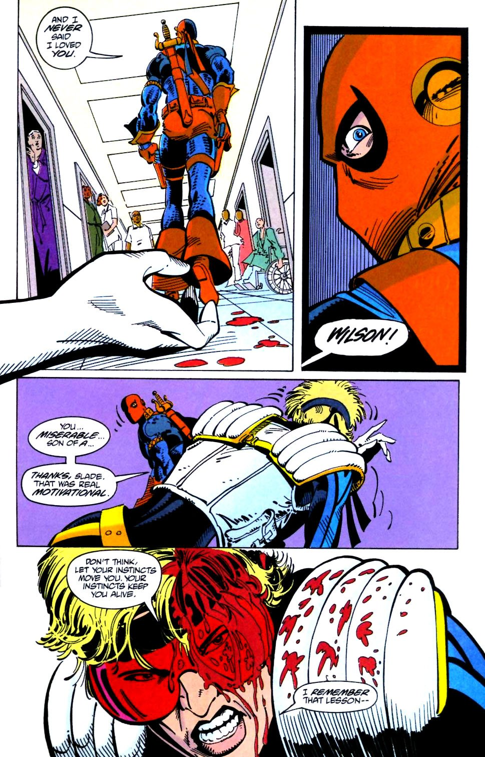 Deathstroke (1991) Issue #21 #26 - English 23