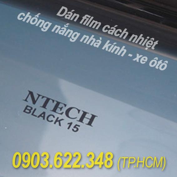 Dán film cách nhiệt, phim chống nắng hàn quốc NTECH