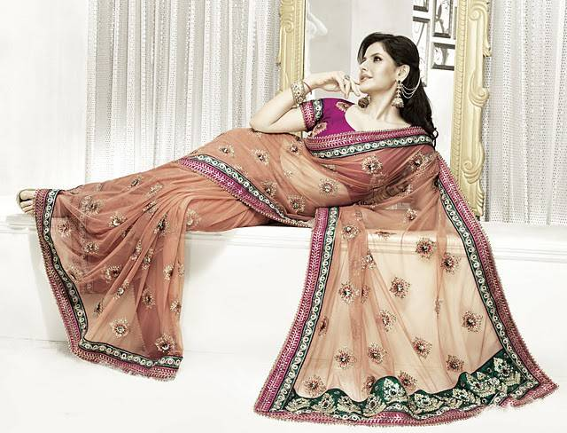 Zareen Khan Saree's Phootoshoot