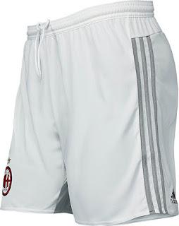 gambar desain jersey dan celana Celana Ac Milan away Official terbaru musim 2015/2016 di enkosa sport toko jersey online grade ori