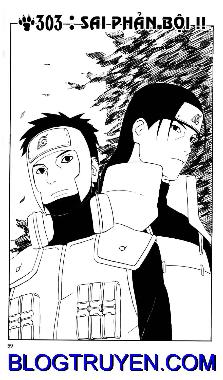 Naruto chap 303 Trang 1 - Mangak.info