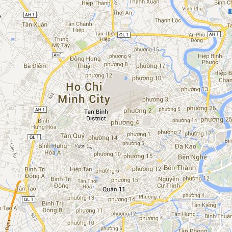 Bản đồ trực tuyến tp hcm