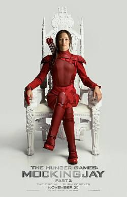 Új Kiválasztott 2. rész poszter Katniss-szel