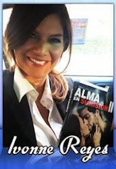 Ivonne Reyes con mi libro