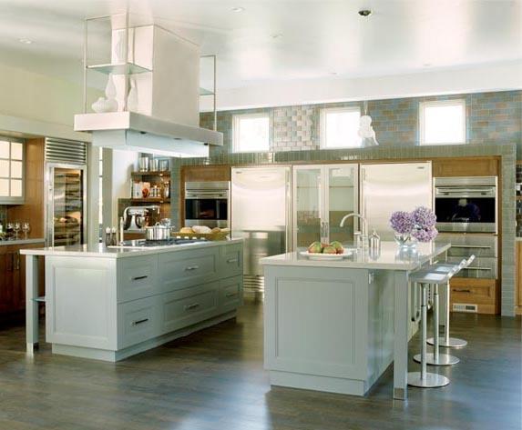 wife life dual island kitchens