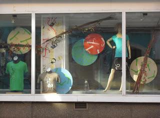 neue Gestaltungselemente in unserem Schaufenster
