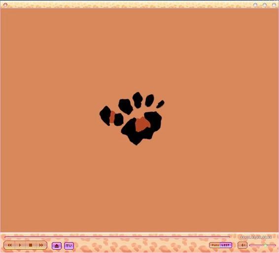 skin GOM Player, thema, leo