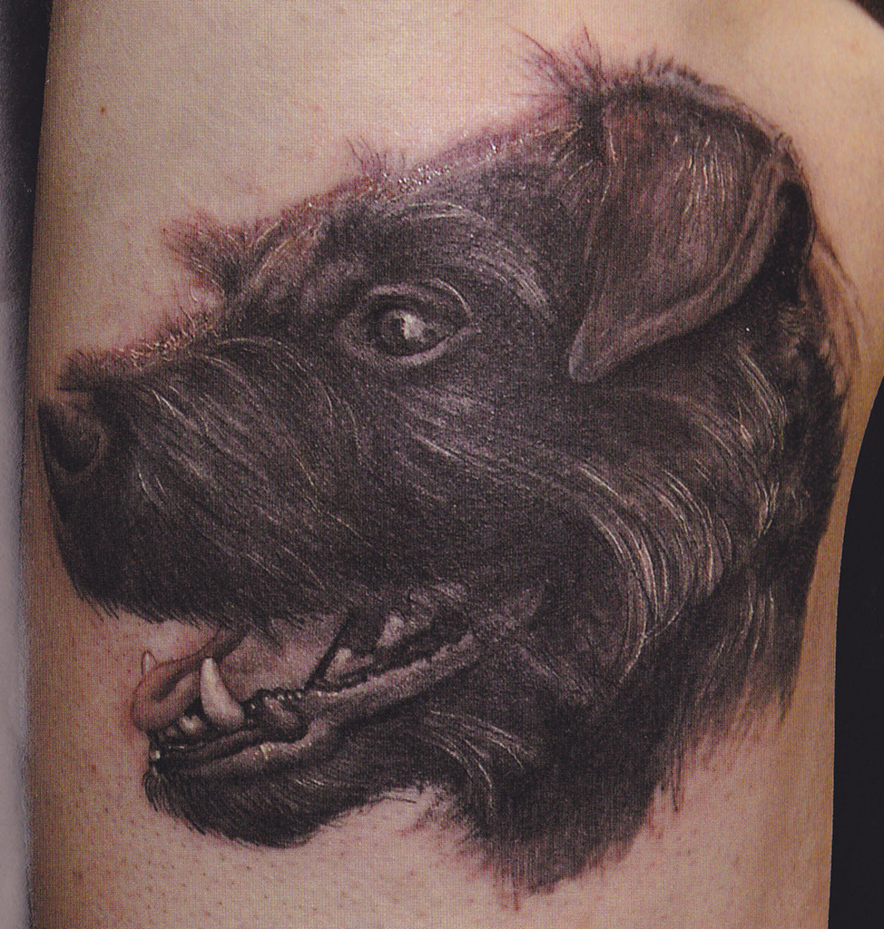 Big paws blog spot tattoos of dogs for The tattooed dog