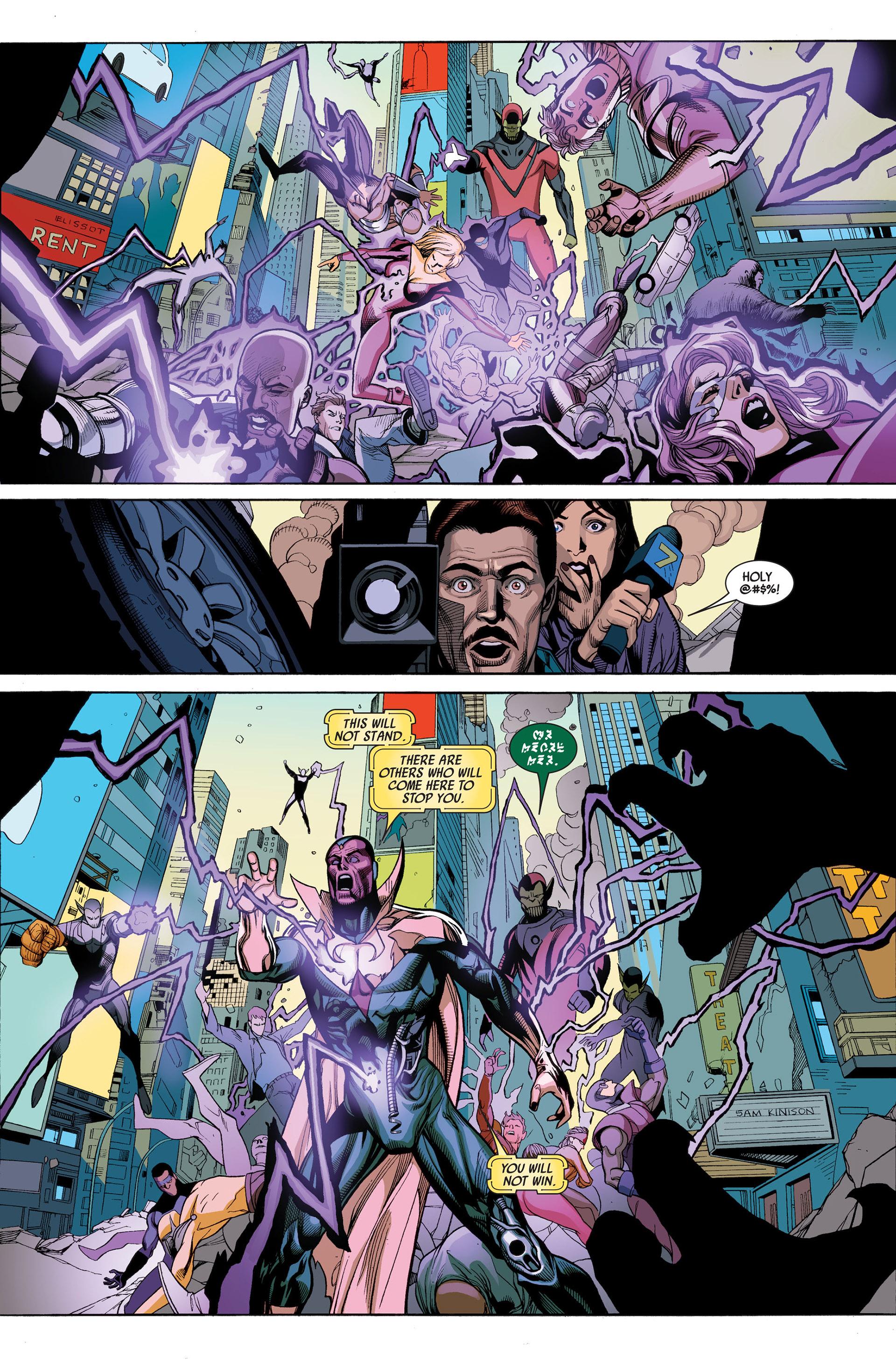 Read online Secret Invasion comic -  Issue #3 - 17