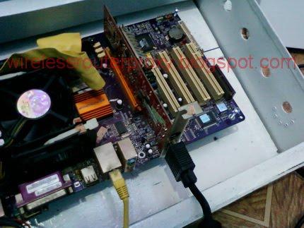 membuat wireless mikrotik dari pc bekas