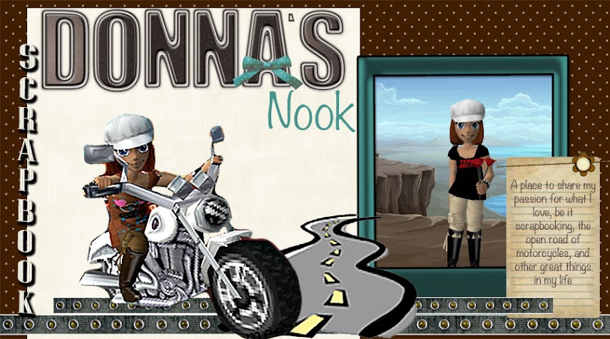 Donna&#39;s Scrapbook Nook