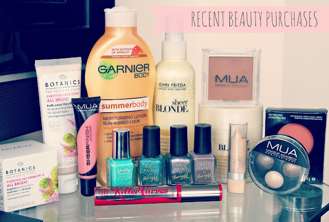 Makeup Reviews, Beauty Products, UK Beauty Blog, Haul, Beauty Blogger, Collective Haul, Boots and Superdrug Haul, Recent Beauty Purchases, What I've Been Buying Lately