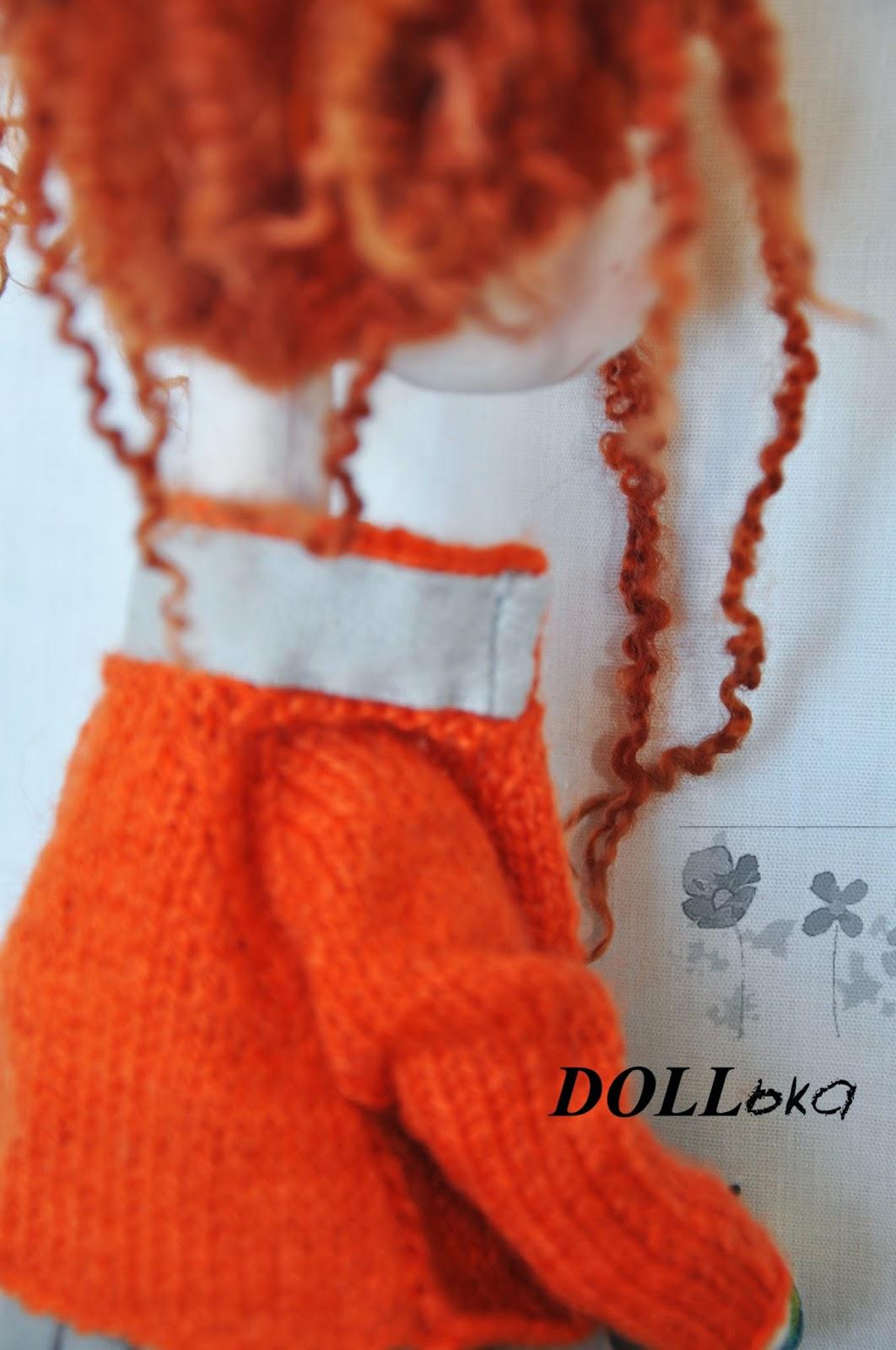 кукла авторская хендмейд