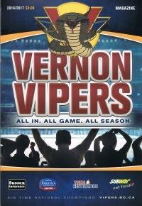 Vernon Vipers 2016-17 Program