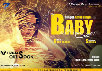 Baby i love you - Amar Singh feat Young Soorma [PROMO] desi hiphop rap music download free